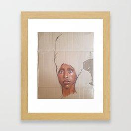 Erykah Baduh Framed Art Print