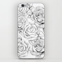 roses iPhone & iPod Skins featuring roses by iphigenia myos