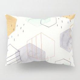 Hexagon Scatter Pillow Sham
