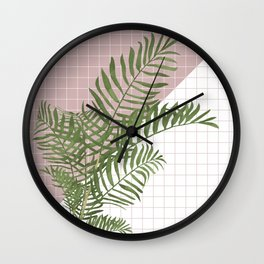 BOTANICAL - ARECA PALM Wall Clock