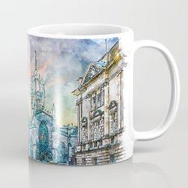 Edinburgh cityscape Coffee Mug