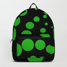 green fat spiral Backpack