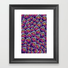 Madeleine Pattern Framed Art Print
