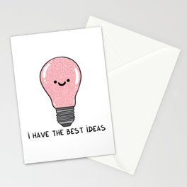 i have the best IDEAS Stationery Cards