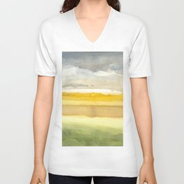 Blurred boundaries Unisex V-Neck