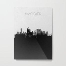 City Skylines: Manchester Metal Print