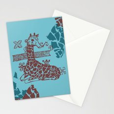 Giraffa camelopardalis Stationery Cards