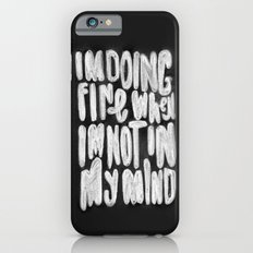 Doing Fine Slim Case iPhone 6s