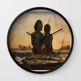 Glorious Birds Wall Clock
