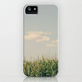 Campos de maíz iPhone Case