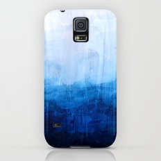 All good things are wild and free - Ocean Ombre Painting Slim Case Galaxy S5