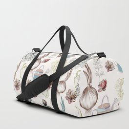 Cozy kitchen garden Duffle Bag