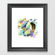 Banana Cut Framed Art Print