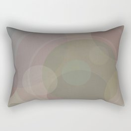 Circles Slate and Agate Rectangular Pillow