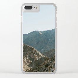 Colorful Sunrise Clear iPhone Case