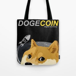 DogeCoin, to the moon! Tote Bag