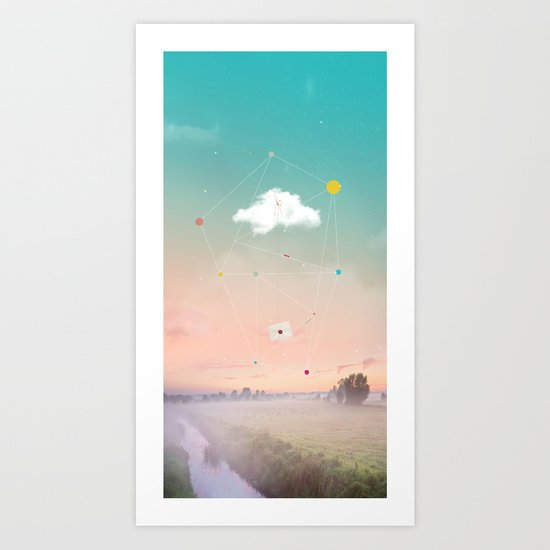 THE LAST MESSENGER Art Print