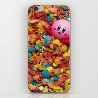kirby iPhone & iPod Skins featuring Kirby Pebbles by Cody Ramsey