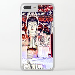 10,000 Buddhas - Harmony Clear iPhone Case