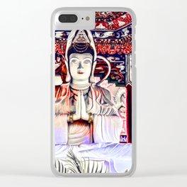 10,000 Buddhas - Harmony Clear iPhone Case