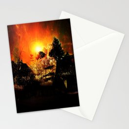 Mysterious Lady Stationery Cards