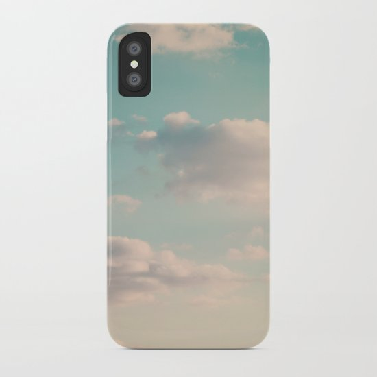 An endless affair with the upper atmosphere iPhone Case
