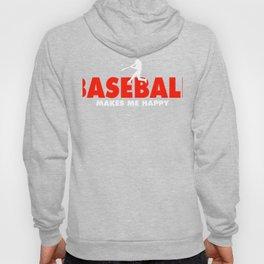 Baseball Shirt Hoody