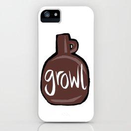 Growl iPhone Case