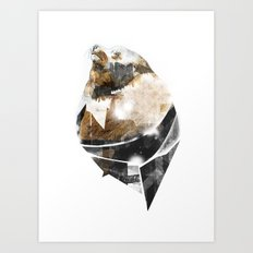 broken creature Art Print