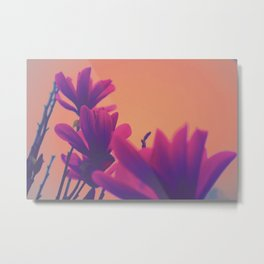 Hypereal Sunrise Florals (3) Metal Print