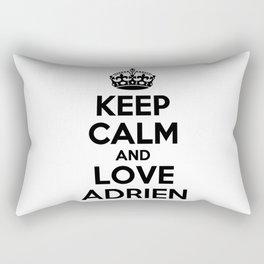 Keep calm and love ADRIEN Rectangular Pillow