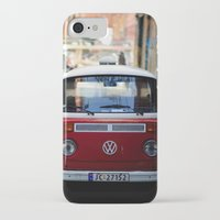 vw iPhone & iPod Cases featuring Vw T1 by Nechifor Ionut