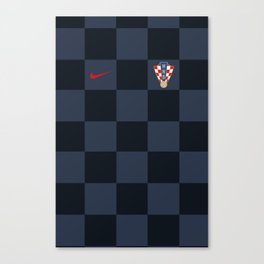 Croatia Away Jersey 2018 Canvas Print
