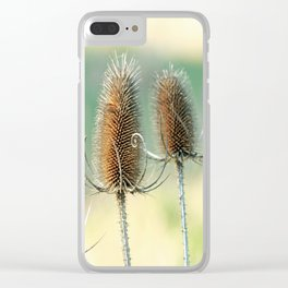 Look out - prickly plant ! Clear iPhone Case