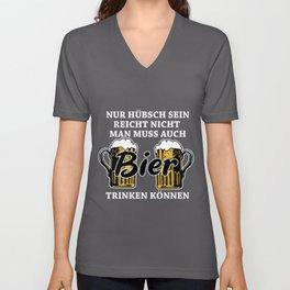 Beer Saying Unisex V-Neck