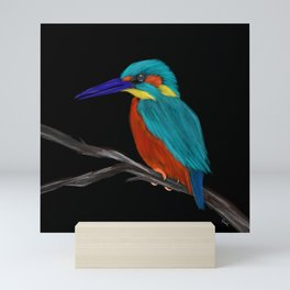 King fisher Mini Art Print