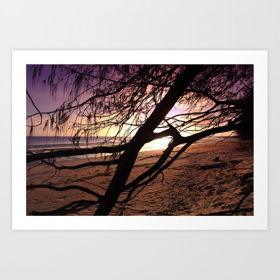 Early morning beach walks are filled with treasures Art Print