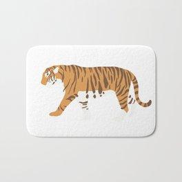 Tiger Trendy Flat Graphic Design Bath Mat
