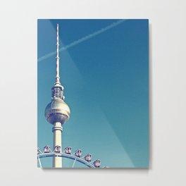 berlin Metal Print