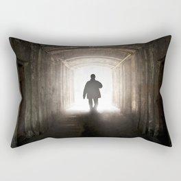 An unexpected guest Rectangular Pillow