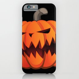 Jack O' Lantern Halloween Pumpkin iPhone Case