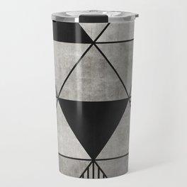 Concrete Triangles 2 Travel Mug