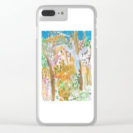 Mount Louisa Gully Clear iPhone Case