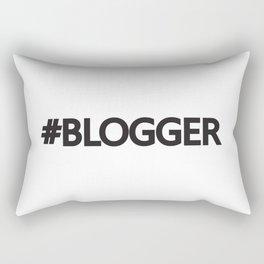 #blogger Rectangular Pillow