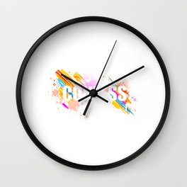 Awesome & Great Confess Tshirt Confess Wall Clock