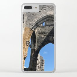 Unfinished Church Clear iPhone Case