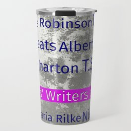 The Reader's Writers of Note Travel Mug