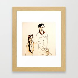 We know Framed Art Print