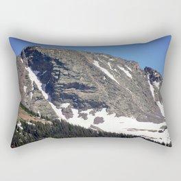 Snowdon Peak, elevation 13,077 feet Rectangular Pillow