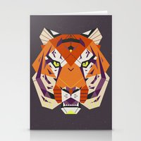 fierce Stationery Cards featuring Fierce by Nayla Smith